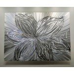 "48"" x 36""  Metal Flower  (select size)"