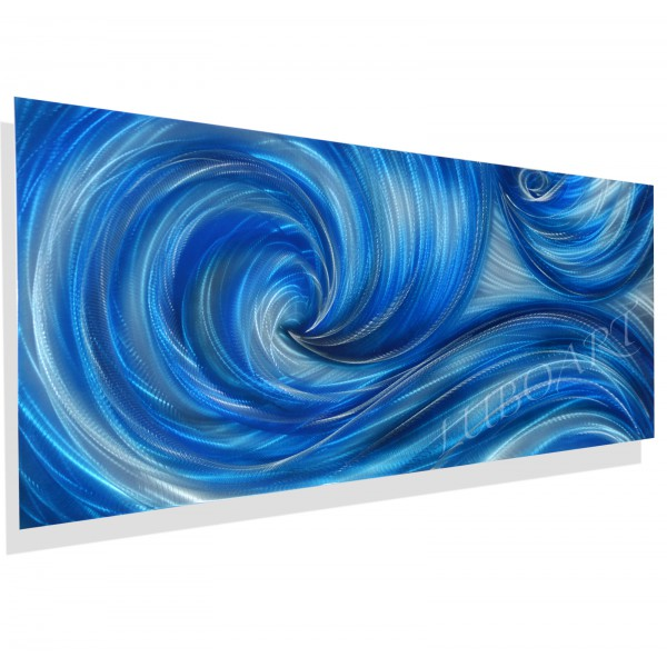 "60"" x 24""  Icy Ocean Dance  (choose size)"