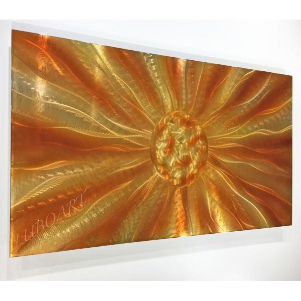 47x24 Golden Energy Ball