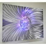 """Silver Ball of Fortune - 36"""" x 24"""""""