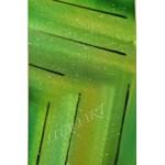 "Golden Green Crystal - 43"" x 24"""