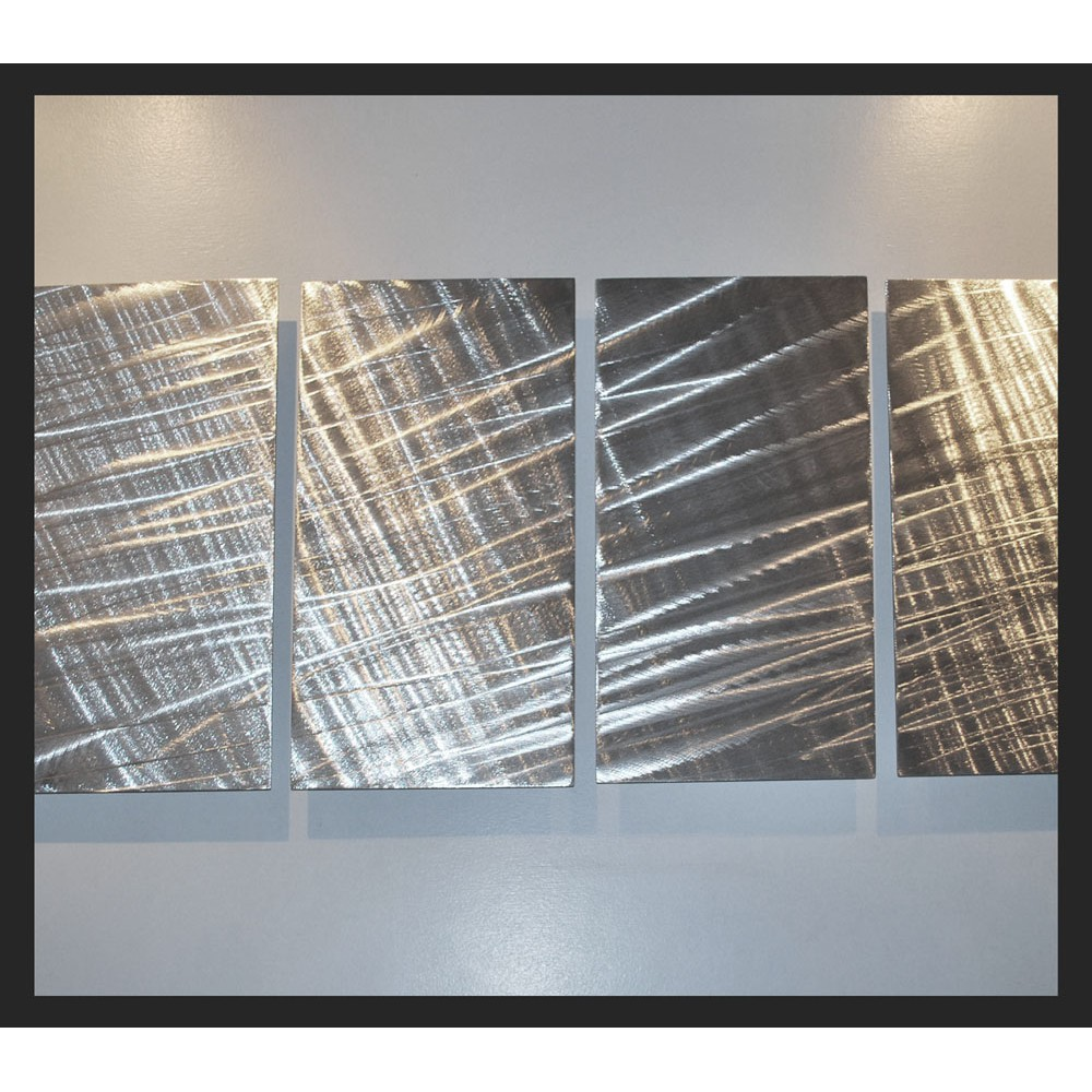 """Metal Fabric - 55"""" x 24"""""""
