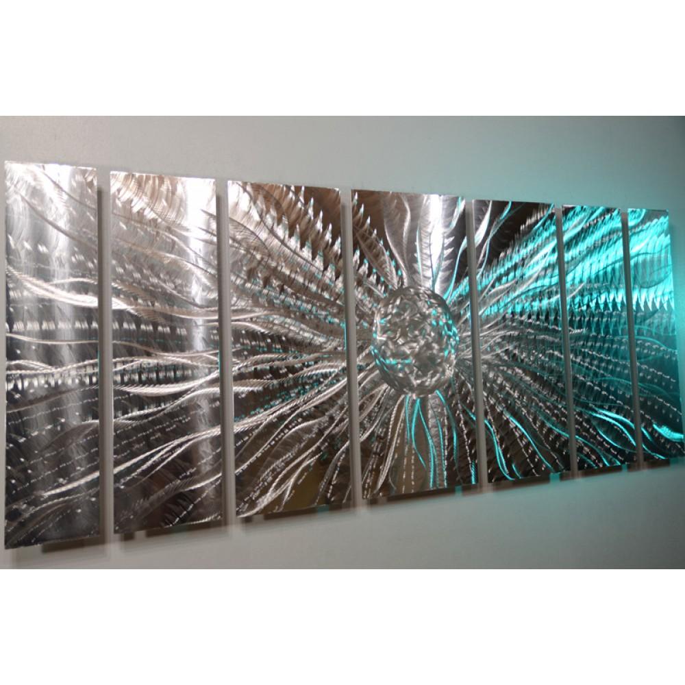 "Silver Energy Ball - 66"" x 24"""